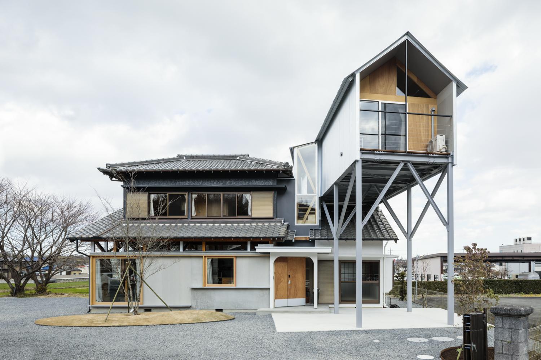 西坂部の家